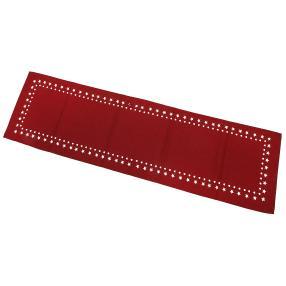 Tischläufer Sterne, rot