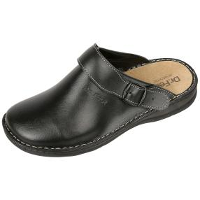 Dr. Feet Herren-Nappaleder Pantoletten