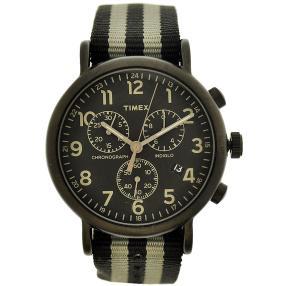 """Timex """"Weekender"""" Herren Chronograph Quarz schwarz"""