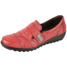 Dr. Feet Damen Nappaleder Slipper