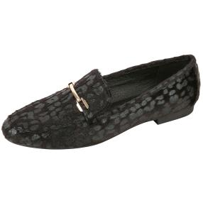 Damen Slipper leopard