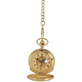 Excellanc Mechanische Taschenuhr, golden