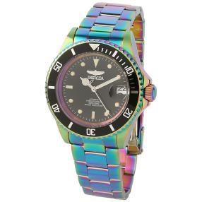 """INVICTA Unisexuhr """"Pro Diver"""" regenbogenfarben"""