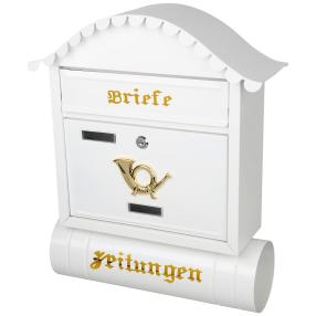 Briefkasten weiß