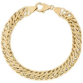 Armband 585 Gelbgold ca. 6,1g