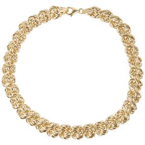 "Armband ""Rose"" 585 Gelbgold"