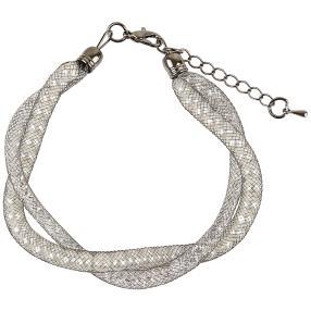 crystalfire Armband Double Pearls