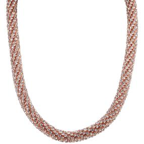 Thousand-Crystal Collier, roségold