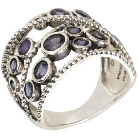 Ring 925 Sterling Silber Iolith