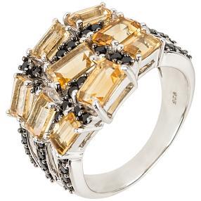 Ring 925 Sterling Silber Citrin
