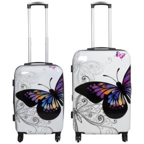 2-teiliges Trolleyset Butterfly