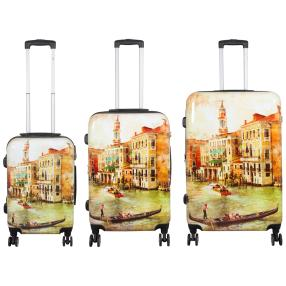 3-teiliges Trolleyset Venedig