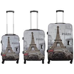 3-teiliges Trolleyset Paris II