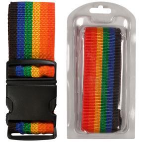 Koffergurt regenbogenfarben