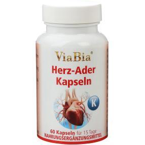 ViaBia Herz-Ader Kapseln 60 Stück