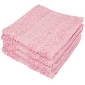 HUCKE Handtuch 4er Set, rosé