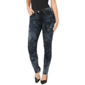 Jet-Line Damen-Jeans 'Ellie' cloudy black/grey