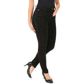 Jet-Line Damen-Jeans 'Piper' black/gold