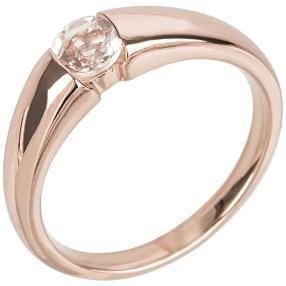 Ring 925 St. Silber rosé vergoldet Morganit