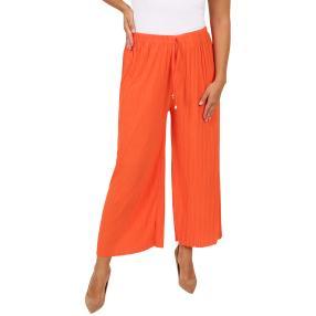 Weite Damen-Plissee-Hose 'Palace' orange