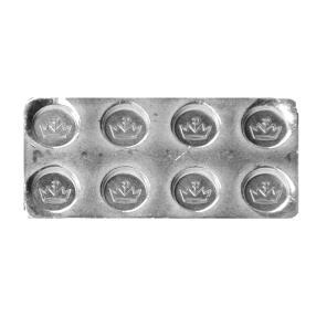 Silberbaustein 1/2 Unze