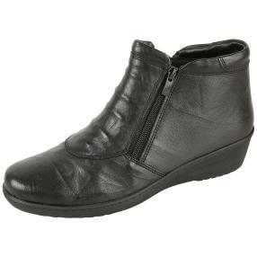 Dr. Feet Damen Nappaleder Stiefeletten