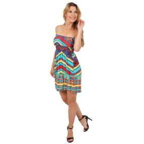 Damen-Kleid 'Laura' multicolor