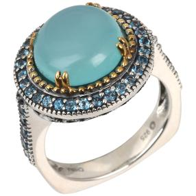 Ring 925 Sterling Silber Chalzedon