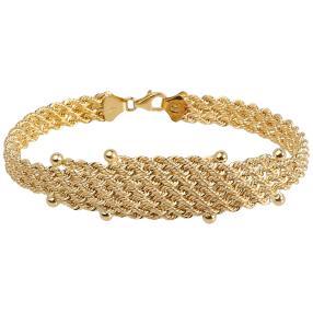 Armband 750 Gelbgold