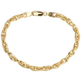 Phantasie-Armband 750 Gold