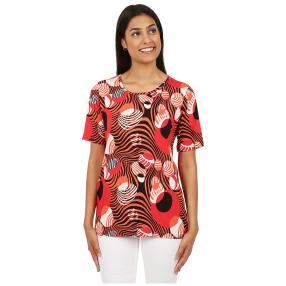 MILANO Design Damen-Shirt 'Circles' multicolor