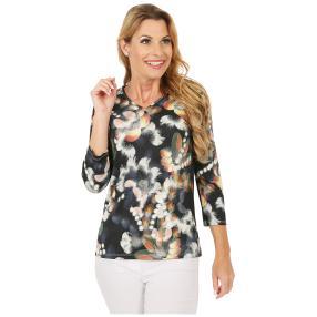 MILANO Design Damen-Shirt 'Amber' multicolor