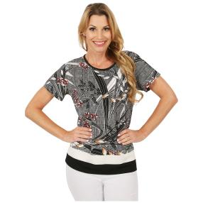 Damen-Shirt 'Saki' multicolor