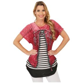 Damen-Shirt 'Jenny' multicolor