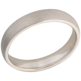 Ring 950 Platin seidenmatt