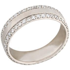 Ring 950 Platin Gr. 19