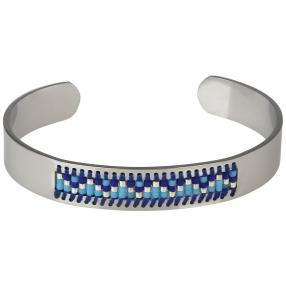 crystal blue Armspange