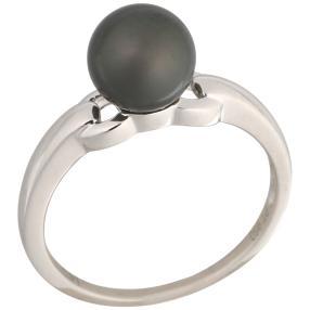 Ring 950 Platin Tahiti Perle