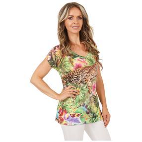 BRILLIANTSHIRTS Shirt 'Jungle Fever' multicolor