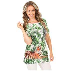 BRILLIANT SHIRTS Shirt 'Jungle Fantasy' multicolor