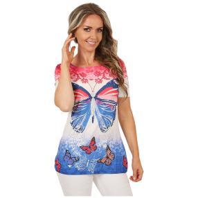 BRILLIANTSHIRTS Shirt 'Summer Colors' multicolor