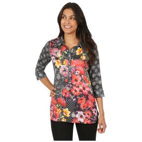 ÉTOILE DE MER  Long-Bluse 'Fabienne' multicolor