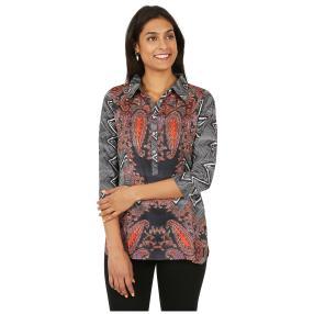 ÉTOILE DE MER  Long-Bluse 'Farah' multicolor