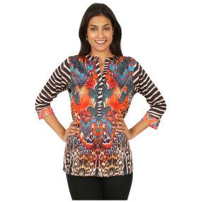 ÉTOILE DE MER  Long-Bluse 'Fedra' multicolor