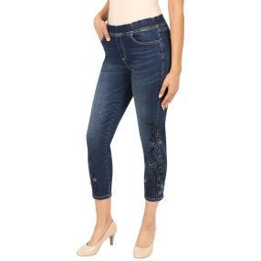 ÉTOILE DE MER  Jeans 'Fleur' blau