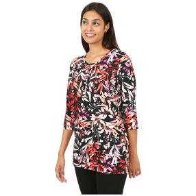 RÖSSLER SELECTION Damen-Longshirt multicolor
