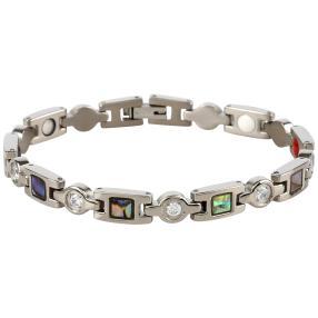 Armband Titan, Abalone/Zirkonia