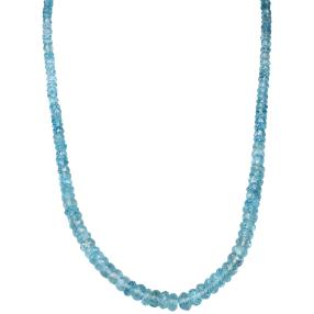 Collier Aquamarin, 925 Sterling Silber