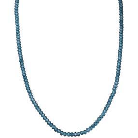 Collier London Blue Topas 925 Sterling Silber
