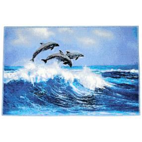 GRUND Badematte Delfine 60 x 90 cm